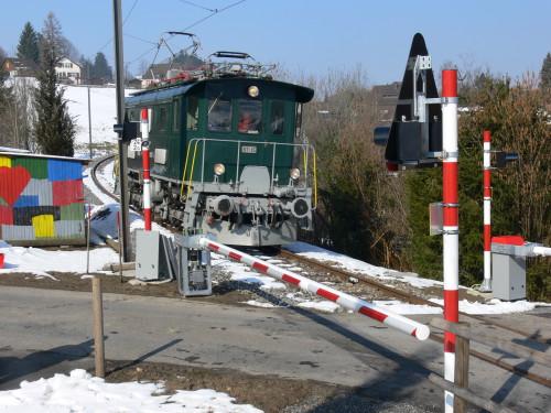 Eine der ersten Durchfahrten der Lok, © DVZO, Andreas Hurt