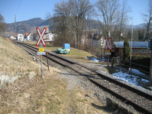 Bahnübergang Mühle, © DVZO, Lukas Trüb