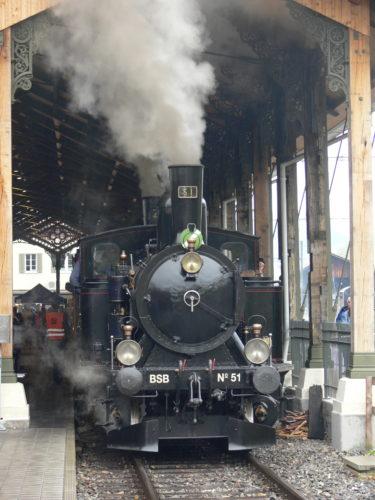 © Lukas Trüb – Lok 51 und 2 waren zwei von sechs Dampflokomotiven an unserem diesjährigen Fahrzeugtreffen.