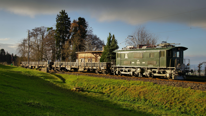 Der Güterzug erreicht Ettenhauen, © DVZO, Jonas Hostettler