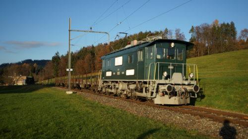 Der Zug auf dem Rückweg nach Hinwil, © DVZO, Jonas Hostettler
