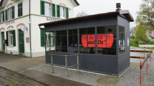 Das fast fertige Stellwerkgebäude Bäretswil, © DVZO, Lukas Trüb