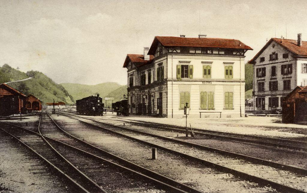 Umbau Bahnhof Bauma