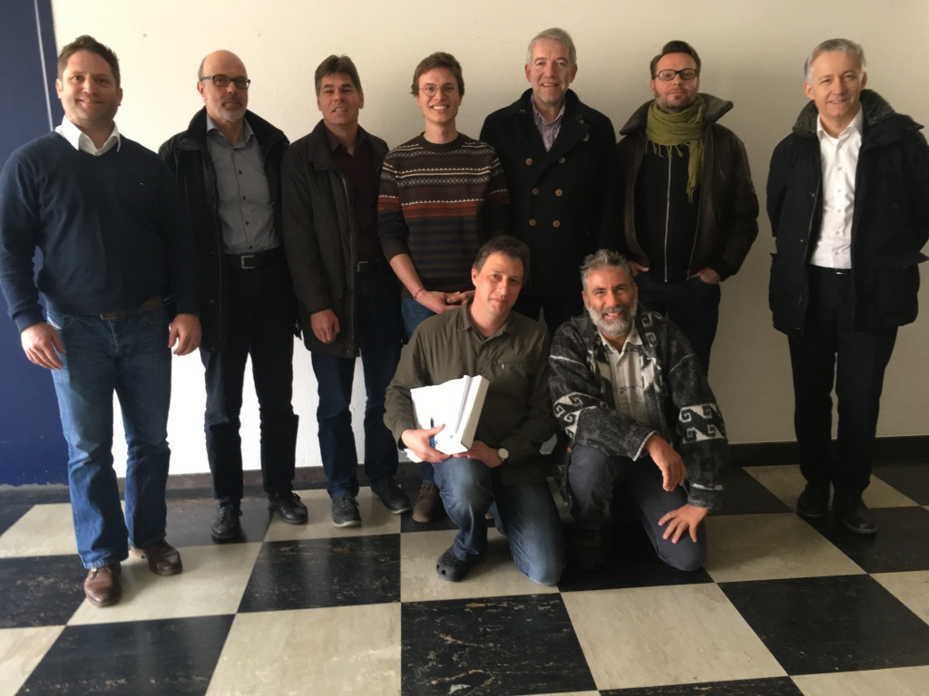 Das Team der Machbarkeitsstudie. © DVZO, Florian Vogel