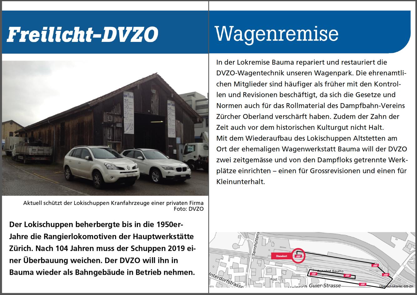 Wagenwerkstatt ex Zürich Altstetten