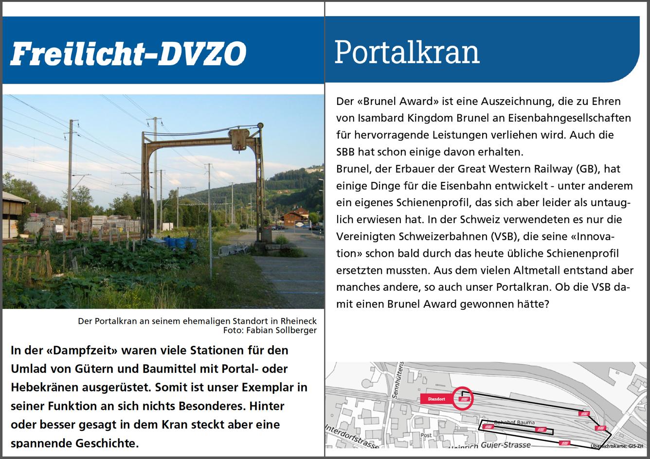 Portalkran ex Rheineck