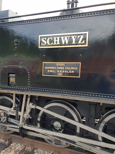 Fabrikschild Lok 4 Schwyz