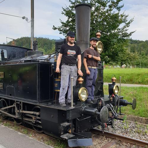 Lokführer- und Heizer-Kurs
