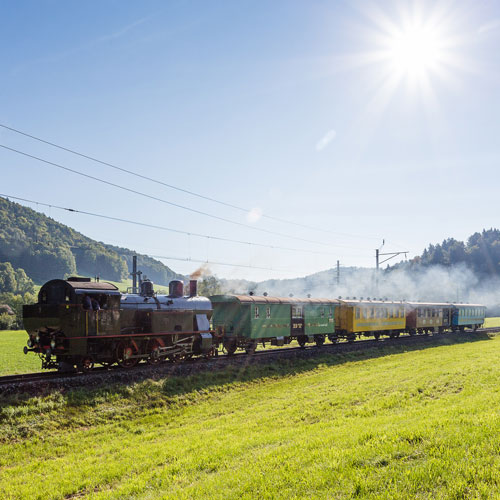 Amor Express zwischen Bauma und Winterthur