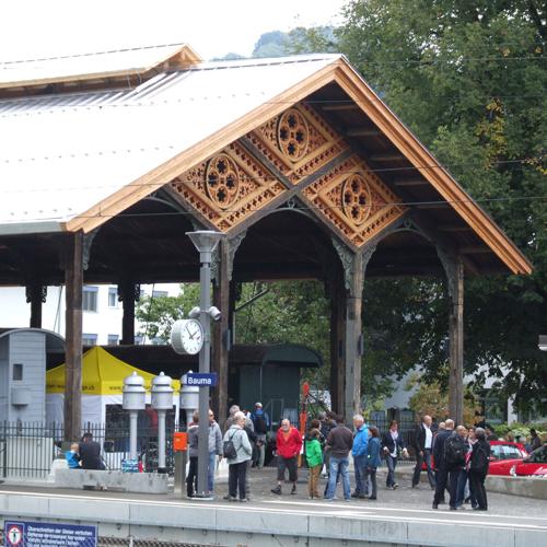 Historische Bahnhofshalle Bauma