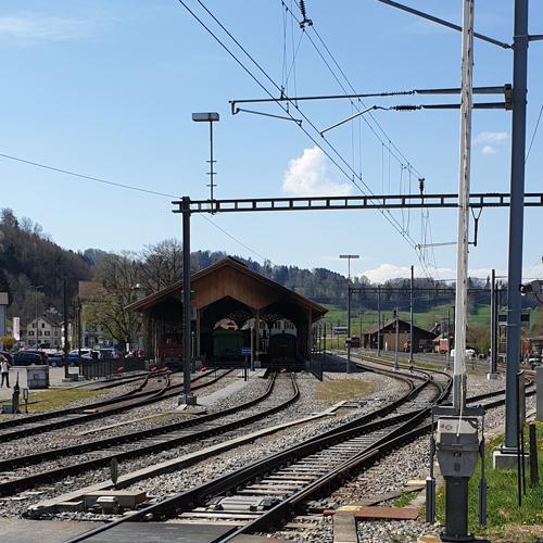 Bahnhof Bauma
