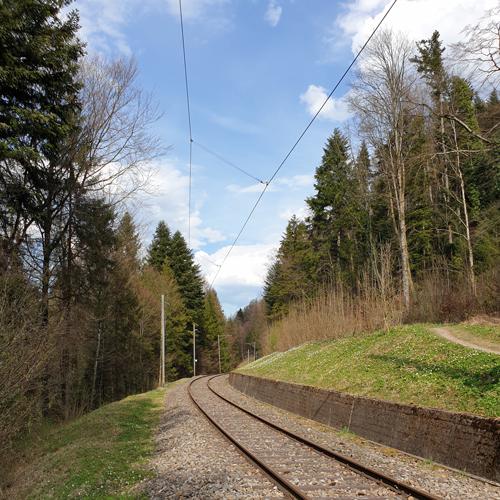 Historische Eisenbahnstrecke