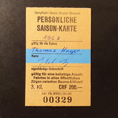DVZO Saisonkarte