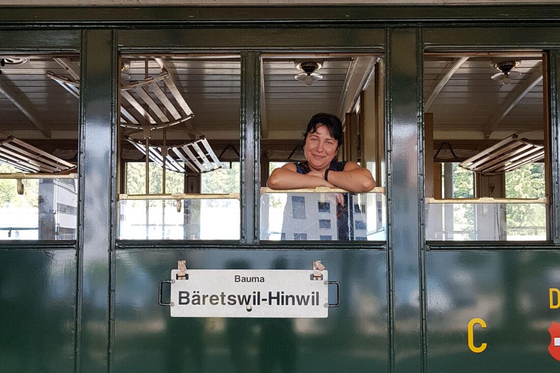 Dampfzug Bauma - Hinwil