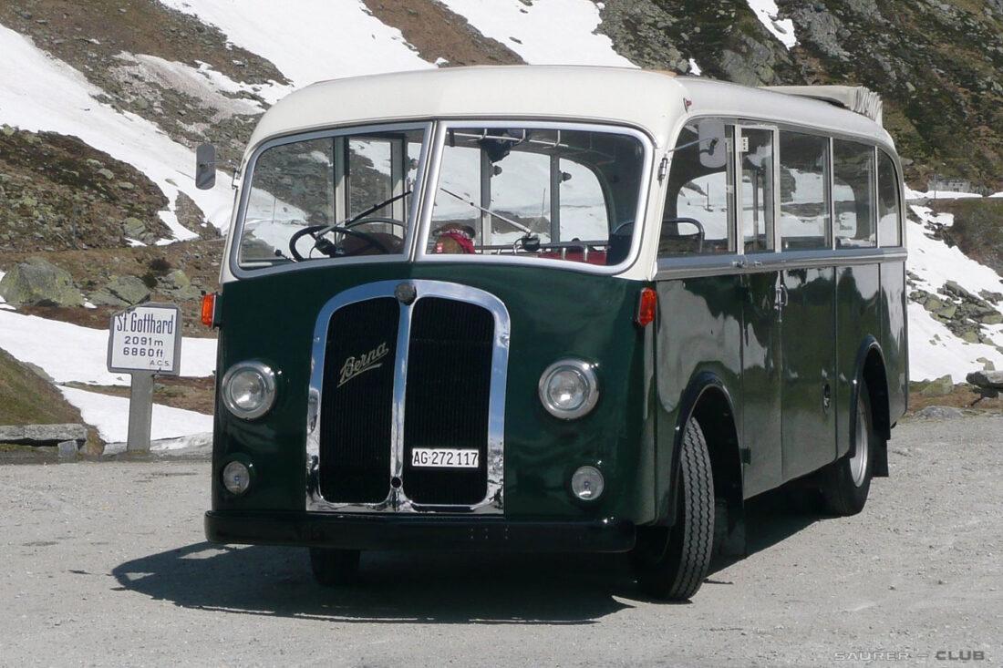 Fotofahrt Berna Bus
