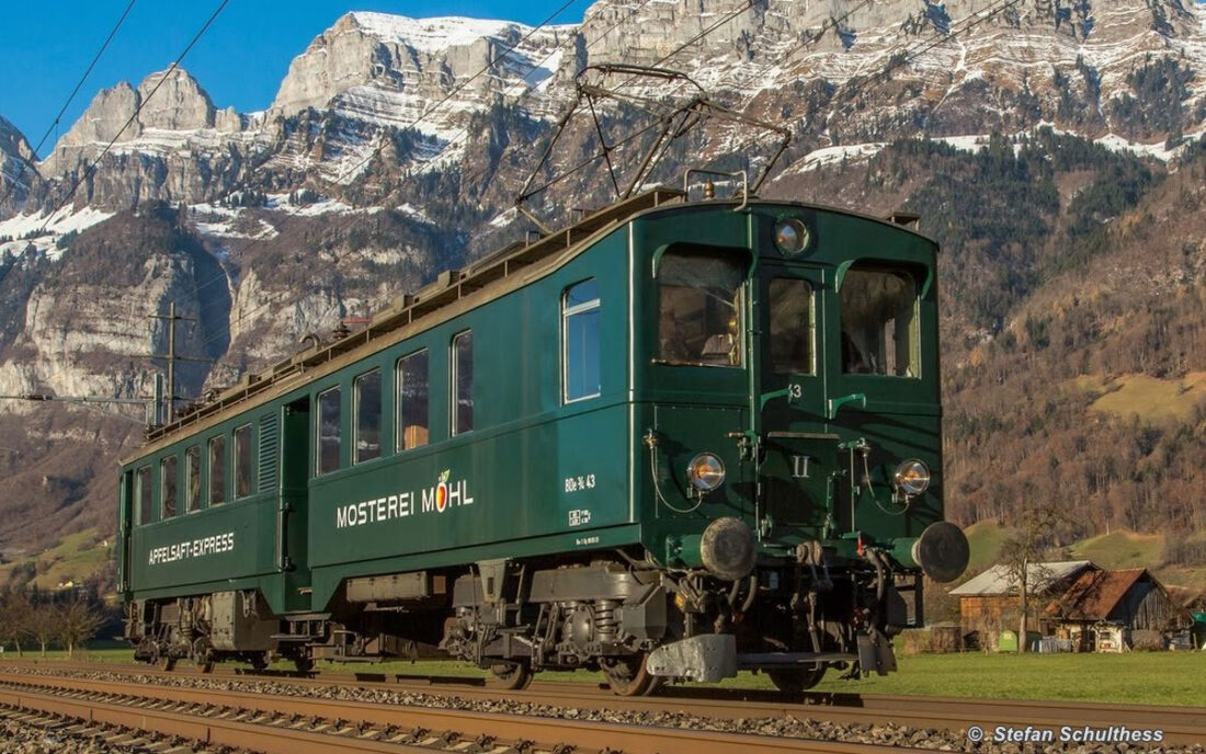 Apfelsaft-Express BDe 3/4 43