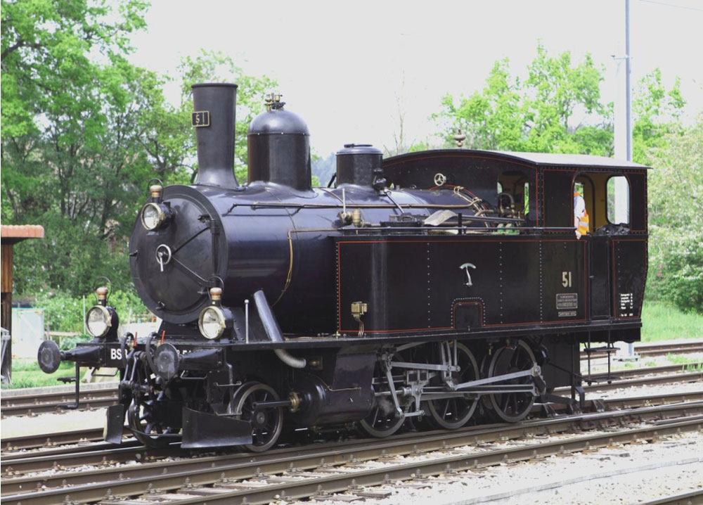 Dampflokomotive Ed 3/4 51