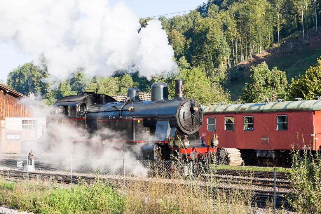 Dampfbahn fahren